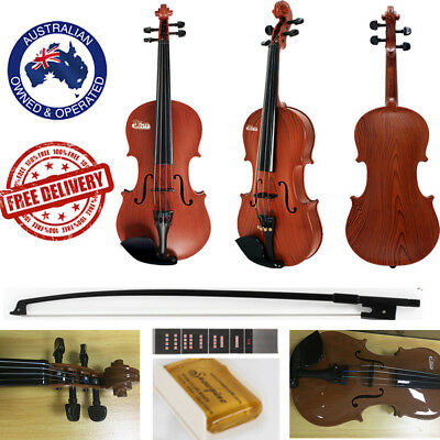 3-6 years old Violin Natural Acoustic Plastic Beginner Children Bow Rosin Toy
