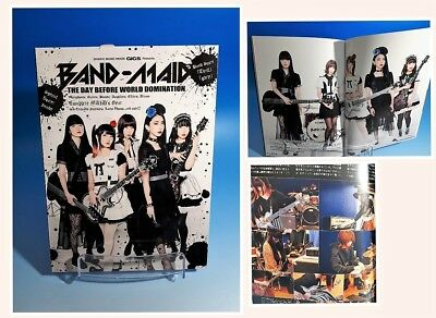 BAND-MAID GiGS japanese music magazin  BAND-MAID THE DAY BEFORE WORLD DOMINATION