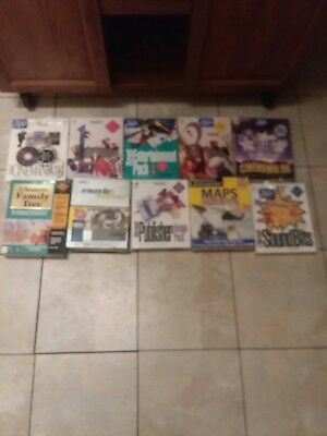 Wholesale Lot Of 10 Pc Games