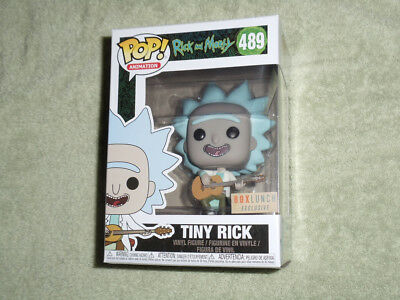 2018 Funko POP! Animation Box Lunch Exclusive Rick and Morty Tiny Rick #489