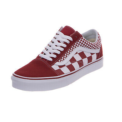 vans UA Old Skool MIX CHECKER (Mix Checker) chili pepper