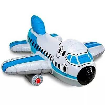 Inflatable Airplane SINGLE ride-on by INTEX Party Beach Pool New Collectable