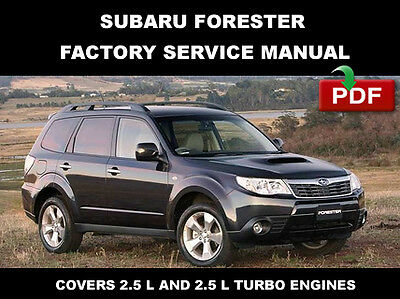 2010 subaru forester factory service repair workshop fsm manual subaru forester 2009 factory workshop repair manual wiring diagram