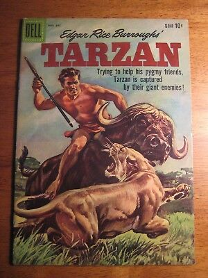 TARZAN #115 (Dell,1959) (FN+) Bright & colorful!