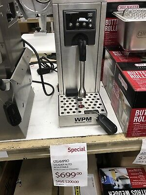 Wpm Ms130T Automatic Milk Steamer Unit Brand New Latte Milk Foam Cafe Barista