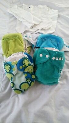 MCN Fitted Nappy 4 Bitti D'lish Snap In One Medium Cloth Nappies