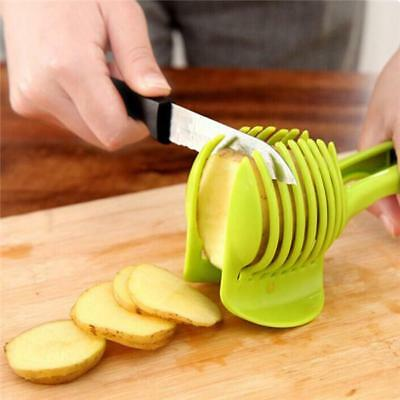 Fruit Vegetable Slicer Cutter Kitchen Handle Cooking Gadgets Accessories Tools