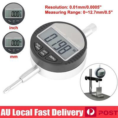 Electronic Digital Dial Test Indicator Precision Measure Probe Gauge 0.01mm AU