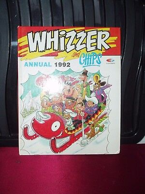 Whizzer And Chips Vintage Annual 1992.