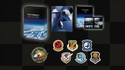 New Ps4 Ace Combat 7 Skies Unknown Collector's Edition Japan Official Import