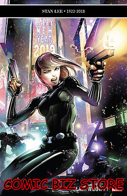 Black Widow #1 (2019) 1St Printing Clayton Crain Main Cover Marvel Comics