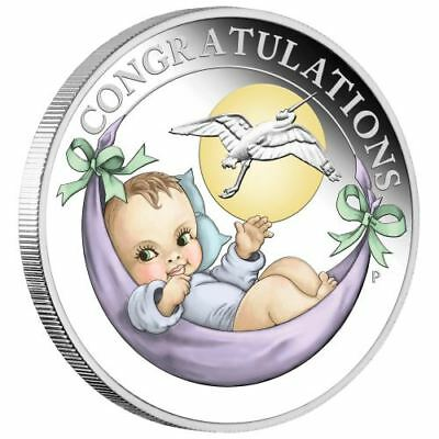 2019 Newborn 1/2oz Silver Proof Coin