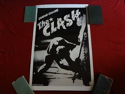 The Clash -London calling poster