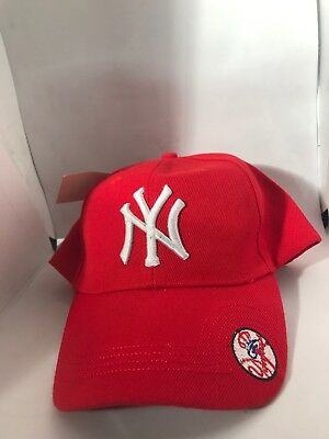 MLB Baseball Cap New York Yankees Strapback Cap NY Logo Adjustable Hats  Unisex 45a083fb12fc
