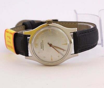 1950's Doxa antimagnetique 1147 Swiss made stainless steel mechanical wristwatch