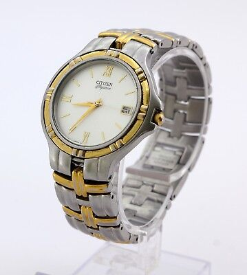 Citizen Elegance 5510A men's stainless steel quartz wristwatch, made in Japan