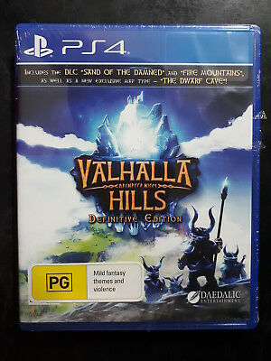BRAND NEW & SEALED, Valhalla Hills Definitive Edition,  PS4 Game