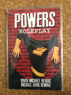 """BRIAN MICHAEL BENDIS Powers """"Roleplay"""" Trade Paperback US"""