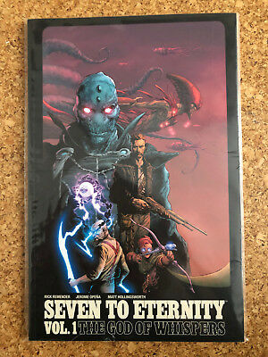 """Rick Remender SEVEN TO ETERNITY """"The God Of Whispers"""" Trade Paperback US"""