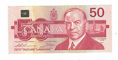 Canada 50 Dollar Banknote from 1988.
