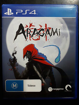 LIKE NEW, Aragami, PS4 Game