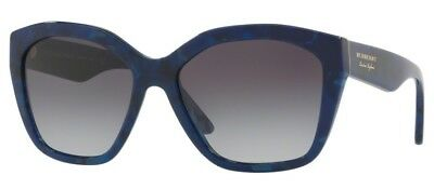 c88c59f7de69 Sunglasses BURBERRY original BE4261 3686 8G 57 Blue Havana Grey Gradient