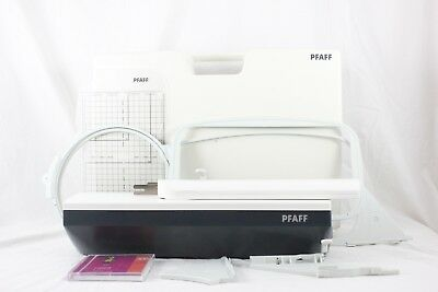 Pfaff RA 3021A Sewing Machine Embroidery Unit in Case with Hoops
