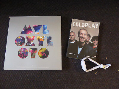 Coldplay Mylo Xyloto Lp  / Cd Box - Xylo Band And Free Book
