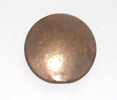 Brass & Steel Pendulum Disc For An Antique Chiming Clock In Good Condition