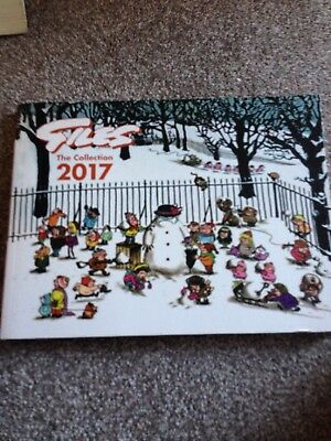 Collectable Giles 'The Collection' Annual 2017 Hardback