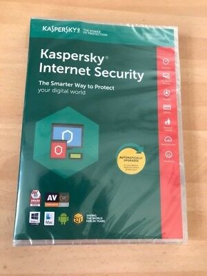 Kaspersky Internet Security 2019 1Pc/device 1Year Genuine