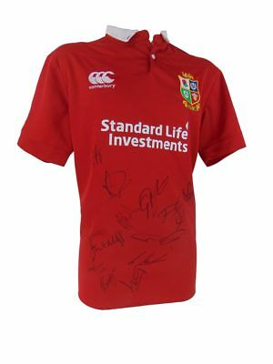 Signed British & Irish Lions Rugby Shirt, Test Series 2017 + *certificate*