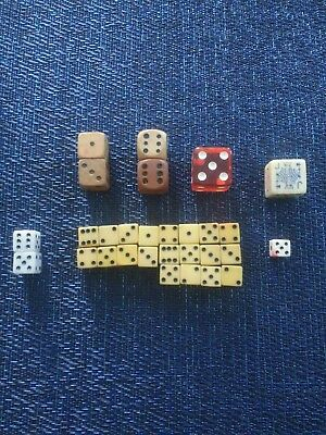 Lot of vintage dice