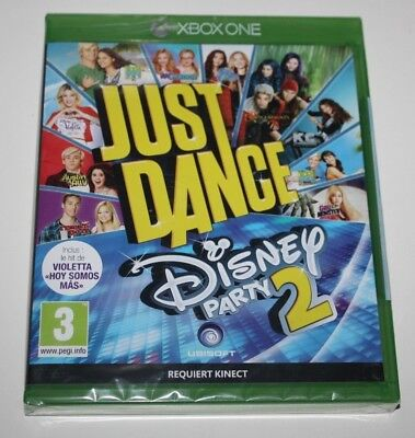 ++ jeu XBOX ONE JUST DANCE disney party 2 NEUF sous BLISTER ++
