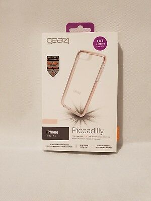 Gear 4 Piccadilly With D30 World Beating Protection iPhone 6,6's,7,8 - Rose
