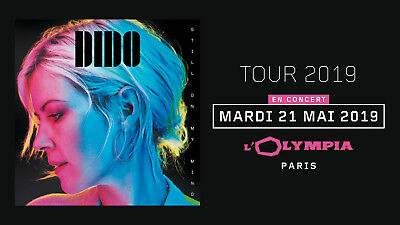 Place concert Dido - Balcon - Paris Olympia 21/05/19