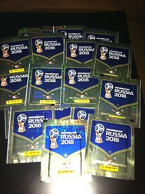 "panini foot "" fifa world cup russia 2018"" lot de 24 pochettes"
