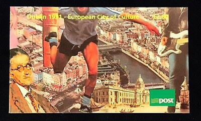 Ireland Booklet 1991 Dublin European City of Culture - MNH - Complete