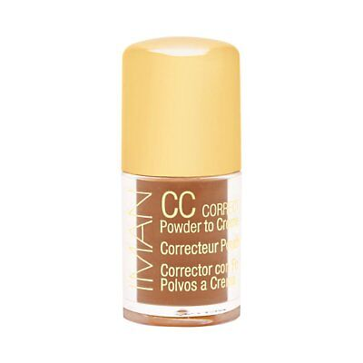 IMAN CC CORRECT & Cover Skin Tone Evener Clay Medium Deep, 0 14 fl oz
