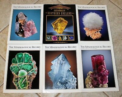 Mineralogical Record 2010 Vol. 41 #s 1 2 4 5 & 6 + Greenbank Northern England