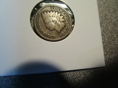 1887 Indian Head Cent -