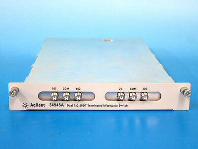 Agilent 34946A Dual 1x2 SPDT Terminated Microwave Switch Module