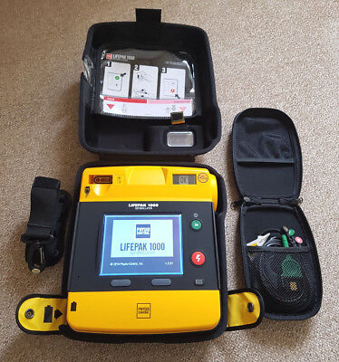 Physio-Control Lifepak 1000 AED with ECG Display and Manual Override (NEW)