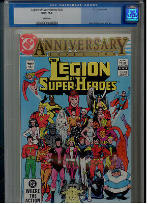Legion of Super Heroes #300  CGC 9.6 WP 1988 DC Anniversary Issue