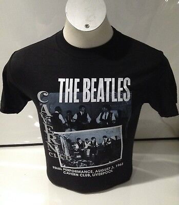 The Beatles Men's Cavern Final Performance T-shirt Black