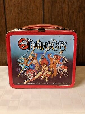 Vintage 1985 ThunderCats Lunch Box Aladdin Industries Incorporated