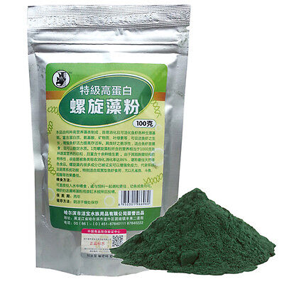 NEW SPIRULINA Flour Enrichment Favorite Food for Fish and Crystal Red Shrimp LY