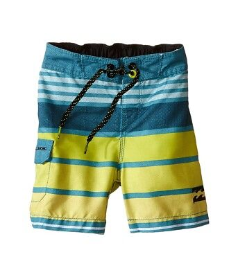 e5d73f342597 Billabong Kids All Day Stripe Boardshorts, Color Overcast, Size KIDS 6L