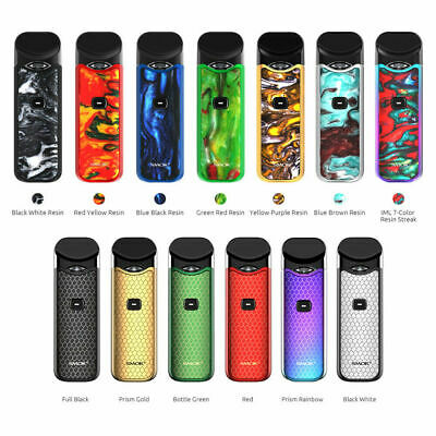 Genuine SMOK Nord Kit 1100mAh with TPD Compliant 2ml Pod System Kit, All Colours