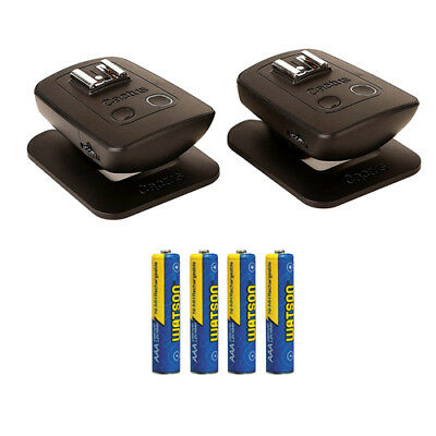 Cactus Wireless Flash Transceiver V5 Duo w/ AAA Batteries